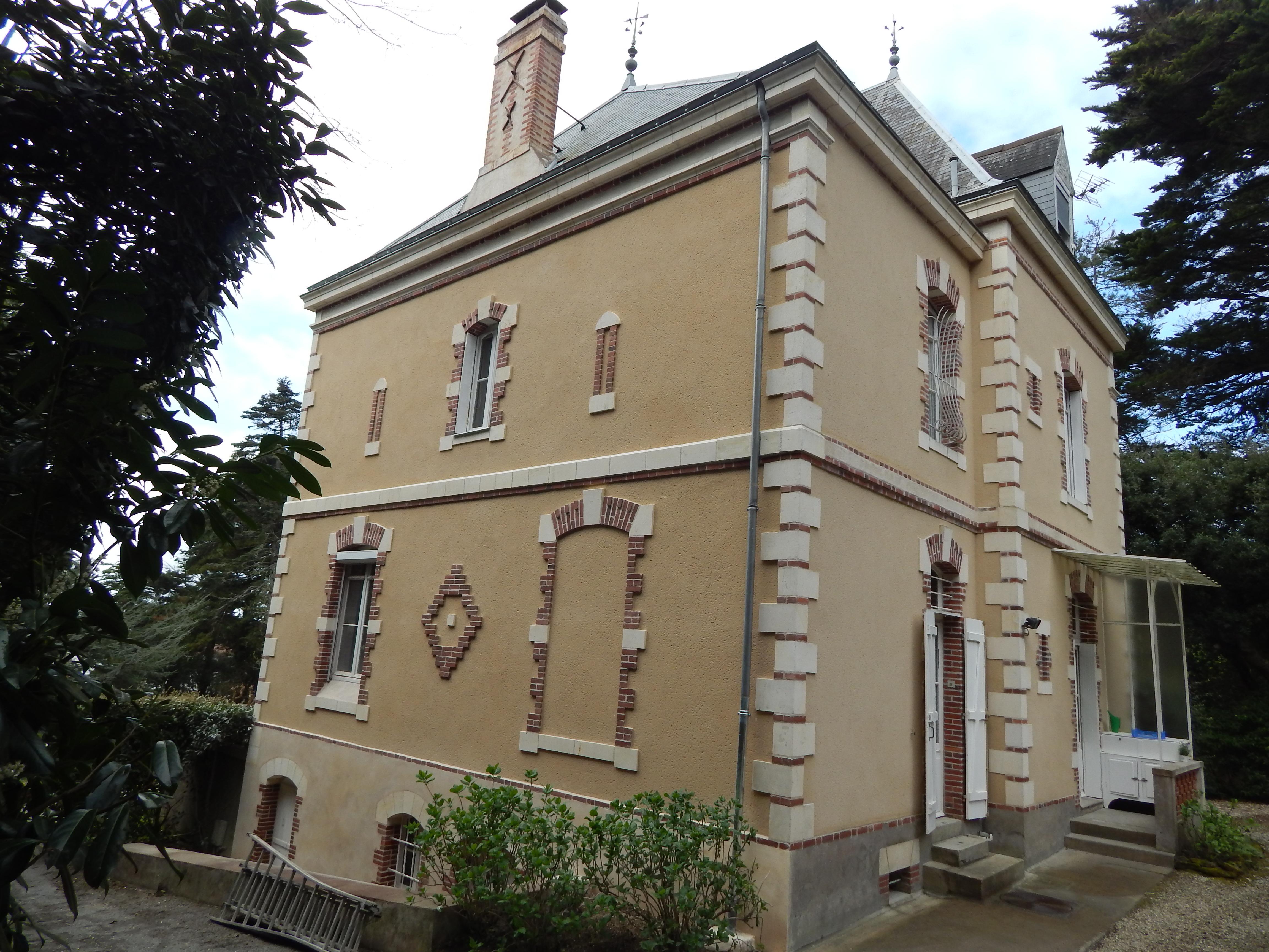 Restauration façade Pornic
