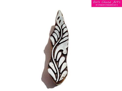 Wood Blocks For Printing on Fabric - Home Decorations - Tatoo Stamp