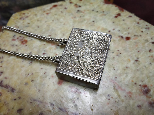 Vintage 1930s Amulet With Chain