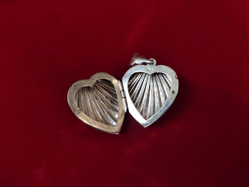 Heart Shape Box Pendant