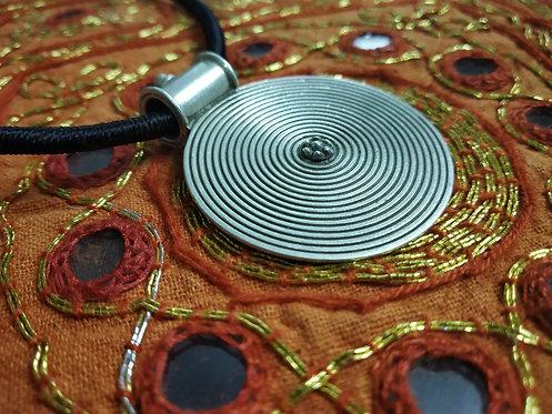 Rajasthani Tribal Silver Pendant