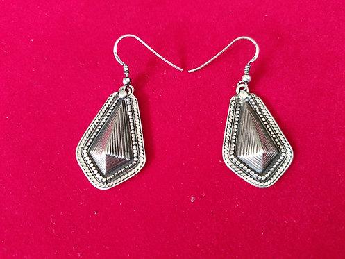Egyptian Pyramid Shape Dangle and Drop Earrings