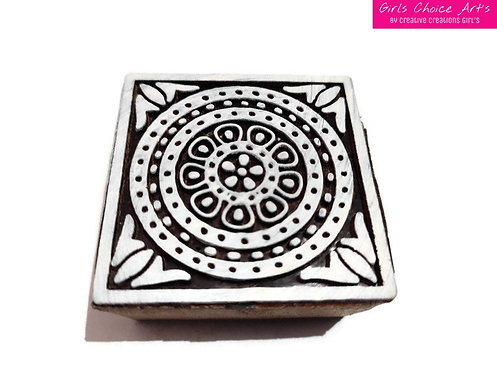 Square Shape Wooden Blocks - Wall Art's - Wall Stamps