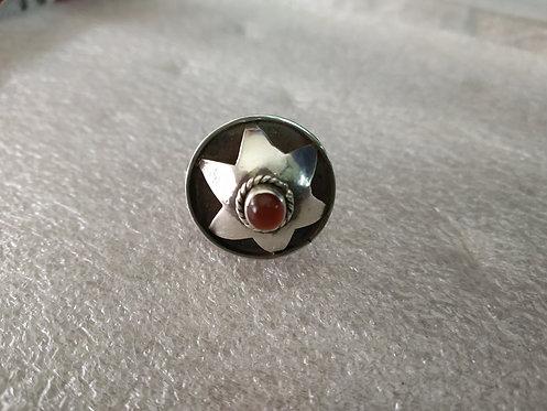 1980's Vintage Carnelian Stone Ring