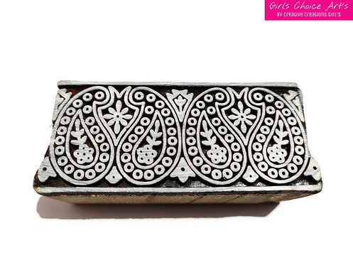 Hand Crafted Wooden Art Border - Wooden Amrapali Designer Border