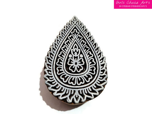 Fine Hand Crafted Floral Stamps - Amrapali Stamps - Mandana Stamps