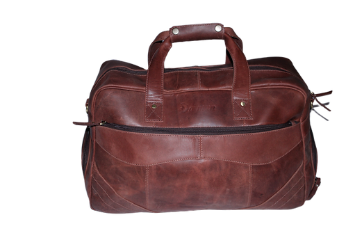 Leather Duffel Bags for Men Women Handmade weekender, travel & carry bag