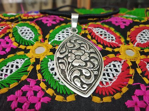Rajasthani Ethnic Silver Amulet