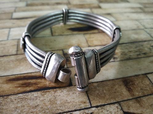 Four Line Snake Chain Bracelet
