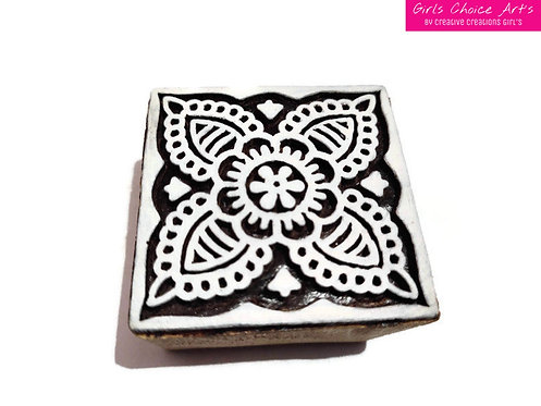 Fine Hand Crafted Wooden Art Blocks For Printing on Fabric