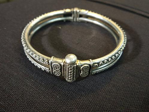 Rajasthani Traditional Bracelet - Tribal Traditional Bracelet - Ethnic Silver