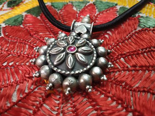 Rajasthani Silver Tribal Amulet