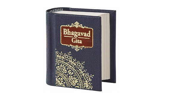Recite the song of the lord with this Palm Sized Bhagwad Gita