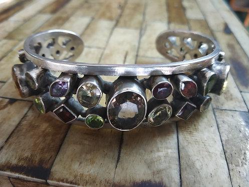 Cluster Of Stone Bracelet