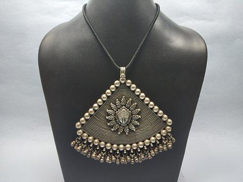 Big Vintage Mahakali Durga Pendant