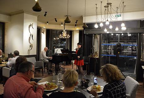 Marc Brochet et Caroline Devergne, So in Love, en concert