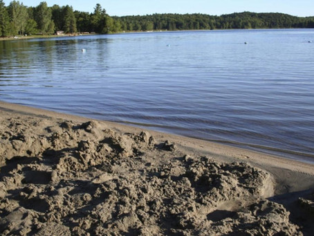 Lac Philippe open for camping, not swimming