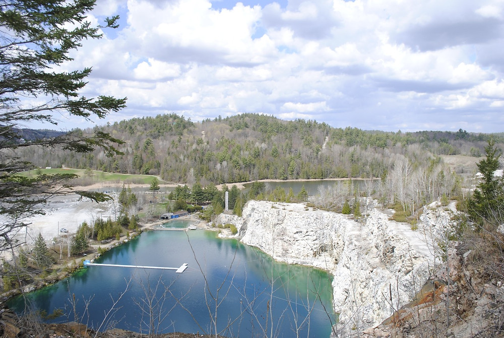 Morrison Quarry on the border between the municipalities of Chelsea and La Pêche is home to a popular picnic, scuba diving, and swim spot, Great Canadian Bungee, and an industrial quarry business. In recent months, Theia Partners, a company behind the Zibi development in Hull and Ottawa, met with the municipalities to inquire about the quarry and possible development options there. Hunter Cresswell photo