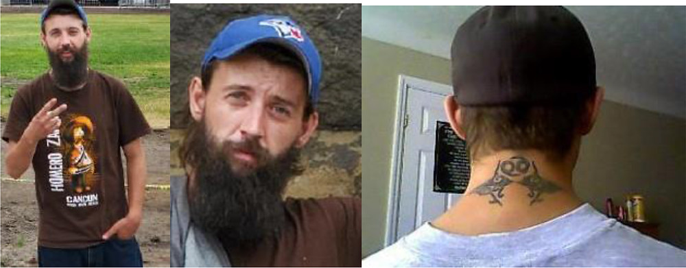 The MRC des Collines Police seek missing Michael Piché-Dolton, 30, of Cantley who was last seen on Aug. 28 at his home. Photos courtesy MRC des Collines Police