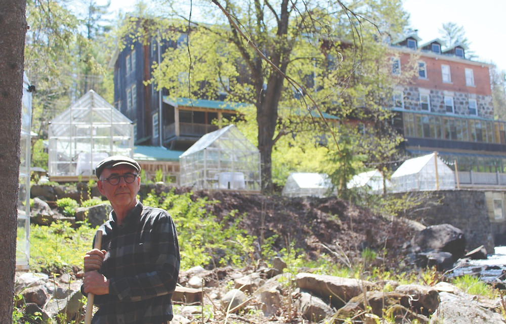 In the absence of the usual guests and restaurant patrons, Wakefield Mill co-owner Robert Milling and the few staff he has hired back since laying off 95 per cent of them in March 2020 have been hard at work revitalizing the hotel. Stuart Benson photo