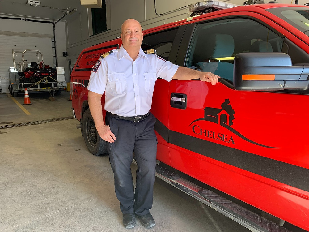 Chelsea Fire Department Chief Charles Ethier. Photo courtesy the municipality of Chelsea