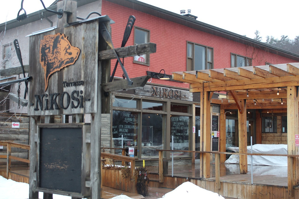 Nikosi Bistro Pub in Wakefield will remain closed and won't be serving take-out while owner Wapokunie Riel-Lachapelle takes time to recharge, as she waits for current red zone restrictions to lift. Stuart Benson photo