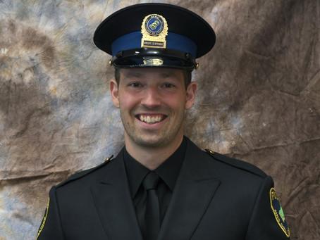 Local cop receives highest distinction
