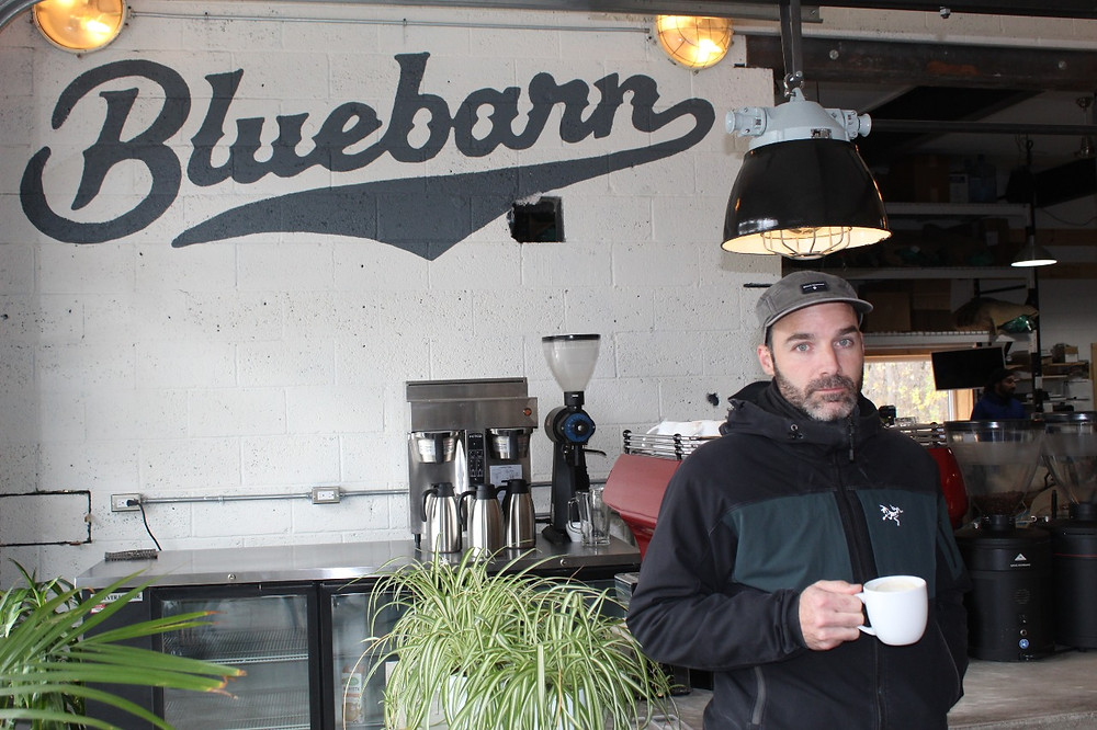 La Pêche council voted 5-3 against a resolution on Nov. 2, which would've allowed Luc Alary, owner of Bluebarn in Wakefield, to begin utilizing his terrace and parking spaces. Stuart Benson photo