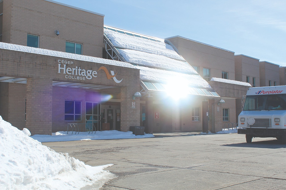 The Legault government's plan to reduce English CEGEP registration spots for schools like Heritage College may exacerbate the pre-existing issue of Hills young people travelling outside the province for services. Stuart Benson photo