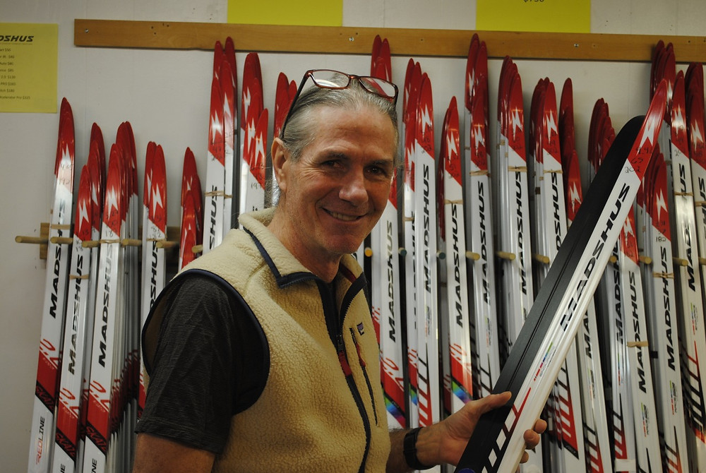 Greg Christie's Ski et Vélo owner and founder Greg Christie in his Old Chelsea store. Low Down file photo