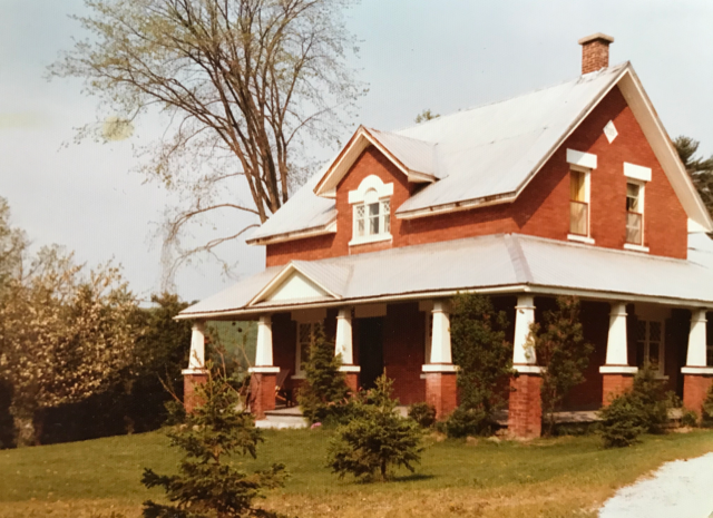 The Miquet home in its former glory before it was expropriated in 1975. Photo courtesy Claire Miquet