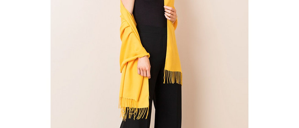 Pashmina - Viscose Bamboo Blend - Yellow