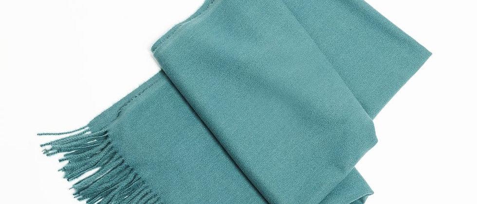 Soft Basic Cashmere Scarf-Emerald