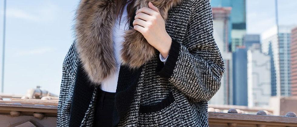 Loose Wool Cardigan