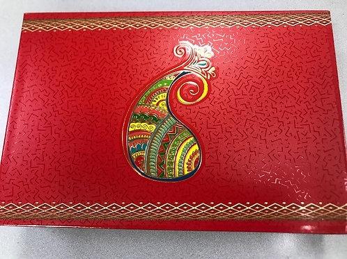 Red Paisley 2LB Fancy Box