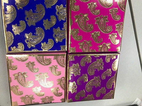 Paisley 4pc Fancy Box
