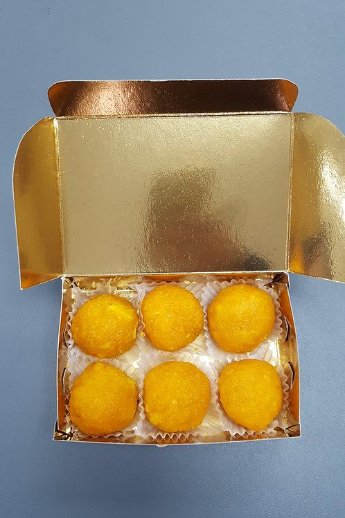 Motichoor Ladoo 6pc Reg Box