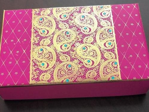 Pink Paisley 2LB Fancy Box