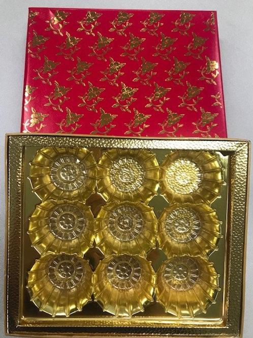 9 Piece NEW Red Box