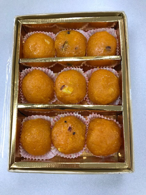 Motichoor Ladoo 9 Piece Window Box