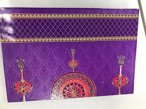 Purple Circle 1LB Fancy Box