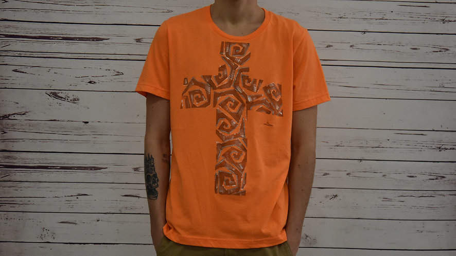 "t shirt ""croce"""