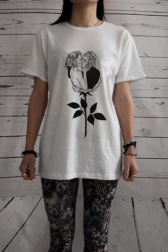 "T-SHIRT ENDORFINE ""rose kiss"""