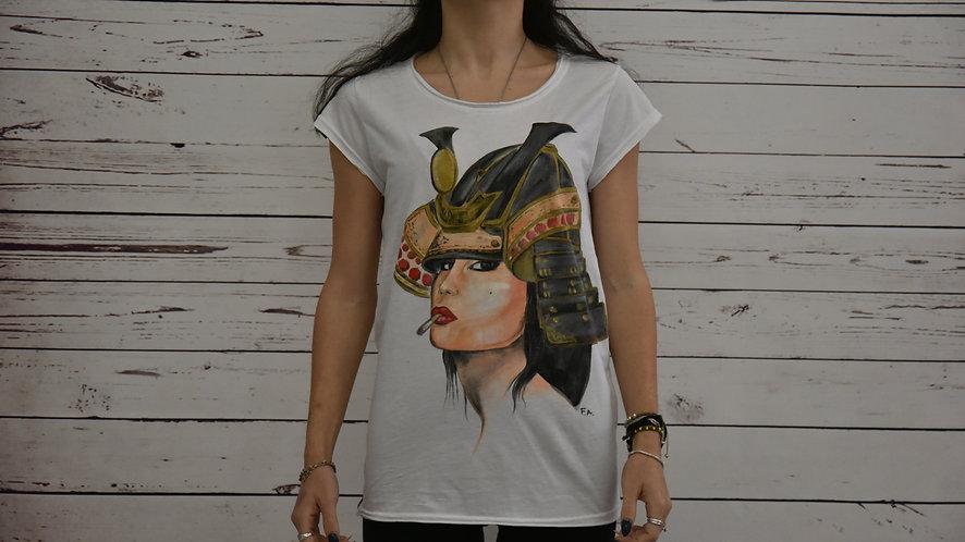 "t shirt ""Lady Samurai"""