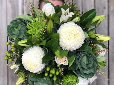 Green White Bouquet