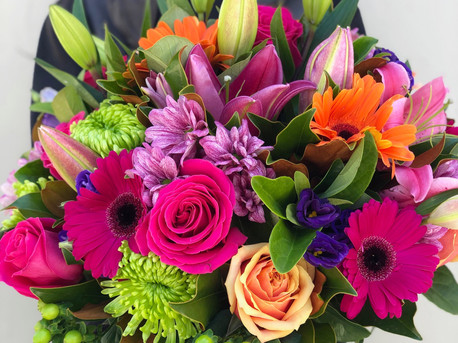 Bright Bouquet in a Vase