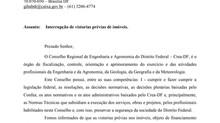 CEF Avaliações - Ofício CREA/DF