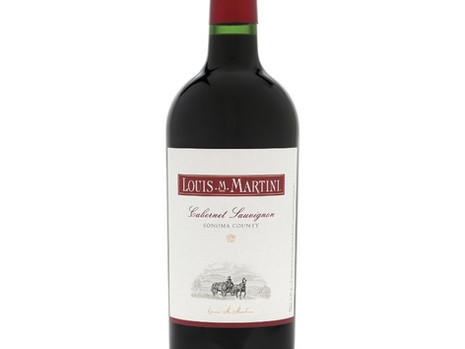 A GREAT STEAK WINE - Louis M. Martini  Cabernet Sauvignon 2018
