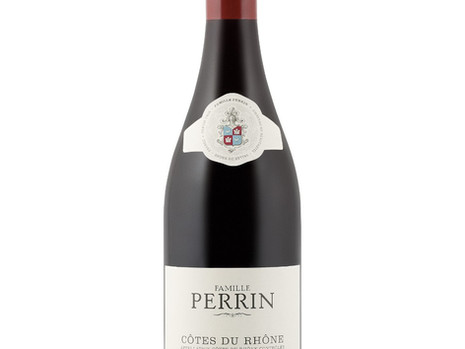 90 pts #wine review @Famille Perrin Cotes du Rhône Reserve 2015