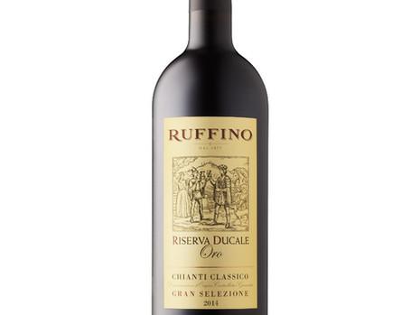 Great Gift Wine!  93 pt. review Ruffino Riserva Ducale Oro Chianti Classico 2014